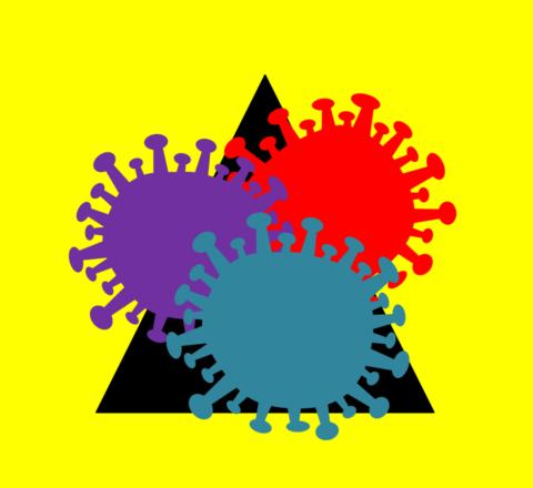 nové mutace COVID-19, koronavirus, coronavirus